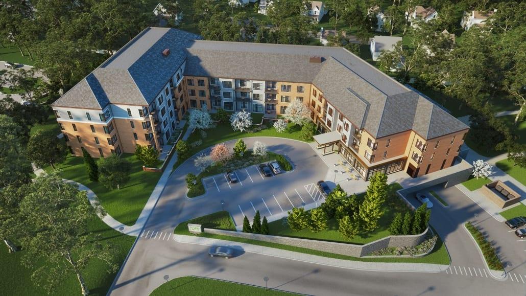 heritage community aerial view