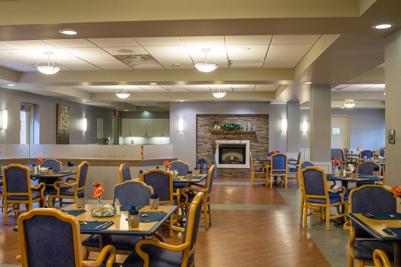 directors hall dining area