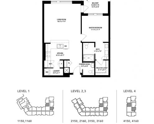 the cork floor plan