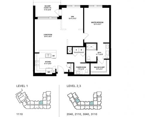 the crosstown floor plan