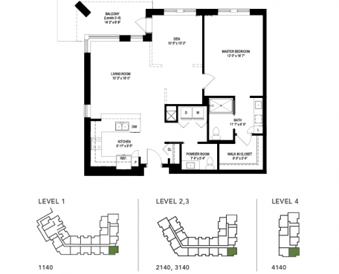 the drake floor plan
