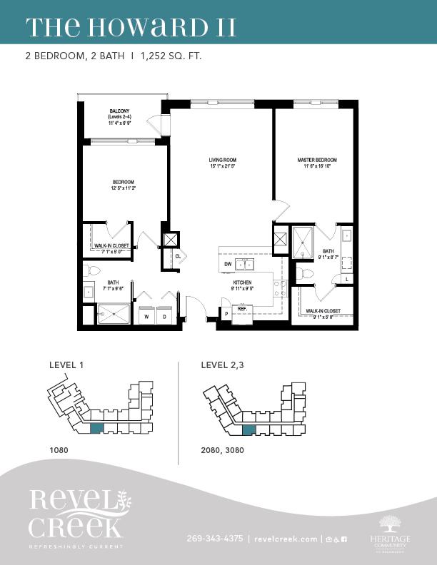 the howard 2 floor plan