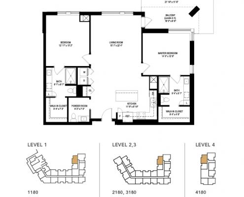 the lovell floor plan