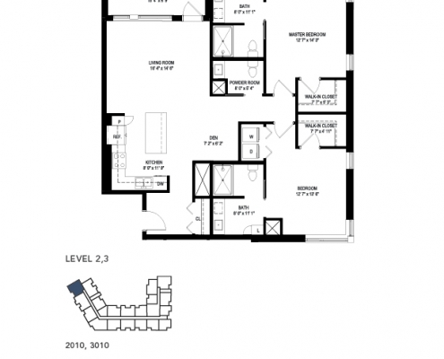 the milham 2 floor plan
