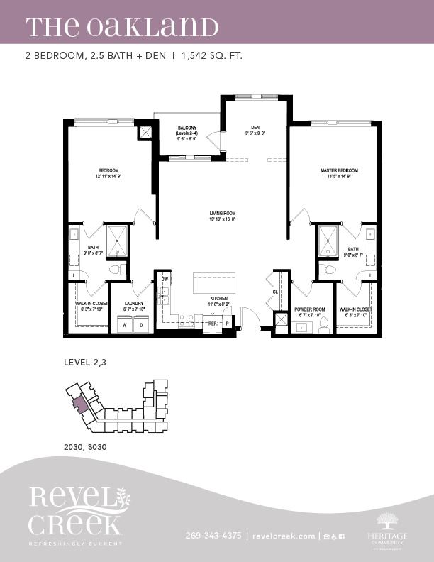 the oakland floor plan